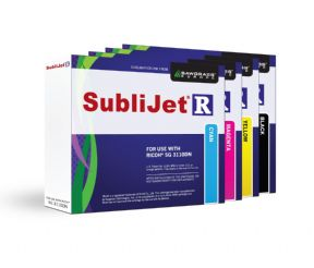 Full set of Ricoh SG 3110DN dye-sub ink cartridges